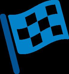 Start/Finish Line Flag icon